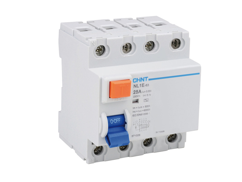 Interrupteur diff rentiel modulaire 4 p les 25 a 30 ma type ac - Differentiel type a ou ac ...
