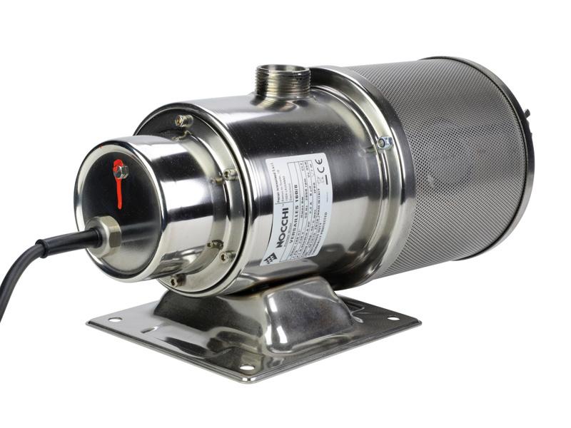 Pompe jet d 39 eau d 39 ext rieur inox monophas 230v 0 37 kw for Pompe a eau exterieur