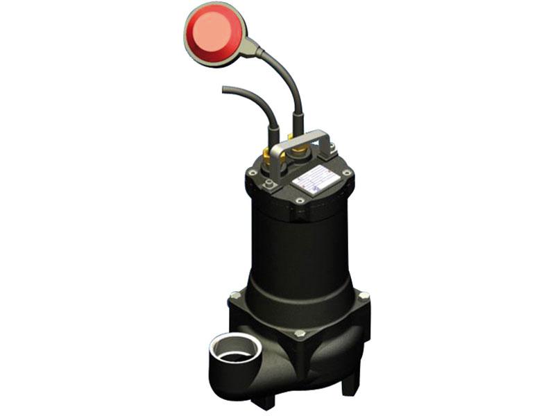 pompe de relevage eau charg e 0 9 kw triphas 400v automatique. Black Bedroom Furniture Sets. Home Design Ideas